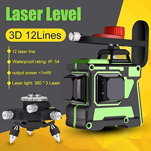 Kathariiy Infrarot-Level, Cross-Line-Laser mit selbstnivellierender, vertikaler und horizontaler Linie, horizontaler und vertikaler 3D-Cross-Line-Leveler