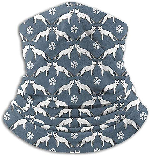 Arctic Fox Mikrofaser Halswärmer Sturmhauben Weiche Fleece Kopfbedeckung Gesicht Schal Maske für den Winter