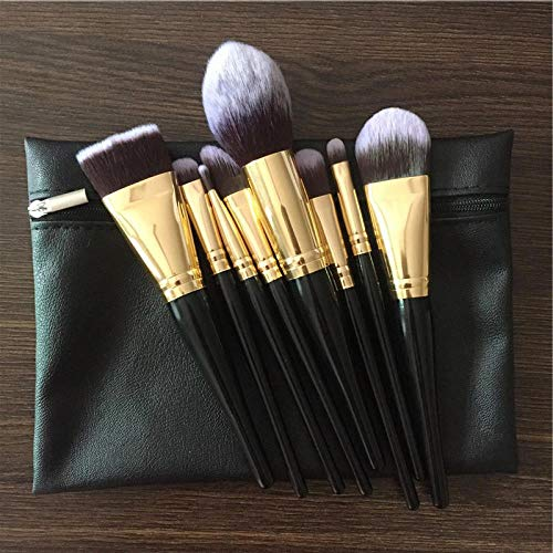 MEIMEIDA Facial Makeup Brush Makeup Tool Makeup Brush Set Face Foundation Makeup Brush Bag, Brush With Bag