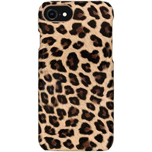 hHülle kompatibel mit iPhone SE (2020), iPhone 8, iPhone 7 Hülle – Leopard, Wildkatze, Tiermuster – Hard Hülle Handyhülle
