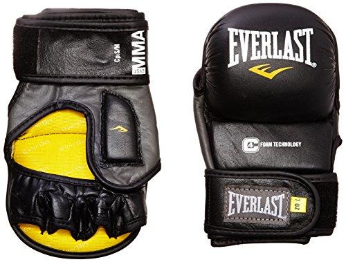 Everlast Erwachsene Boxartikel 7683 Striking Training Gloves Leather Boxhandschuhe, Black, L/XL
