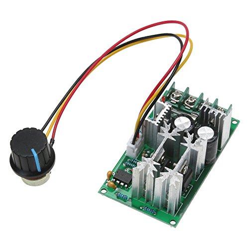 Fxhan PWM ventilatormotor toerentalregelaar module 1200 W, 20 A, 12 V / 24 V / 36 V / 48 V / 60 V, 25 kHz