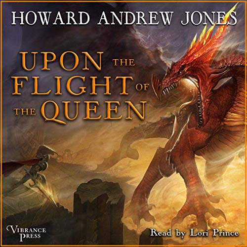 Upon the Flight of the Queen audiobook cover art