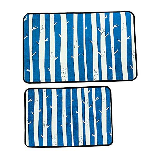 GRENSS Cartoon Chenille Eingang Fußmatte Anti-Rugs für Küche/Bad Bett Matten Wasser absorbierenden Matten Home Teppiche, Matten, 03,420 mm x 1800 mm