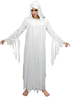 flatwhite Woman's Halloween Ghost Costumes White