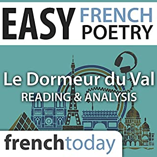 Le Dormeur du Val (Easy French Poetry) audiobook cover art