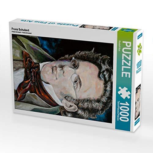CALVENDO Puzzle Franz Schubert 1000 Teile Lege-Größe 48 x 64 cm Foto-Puzzle Bild von Rudolf Rox