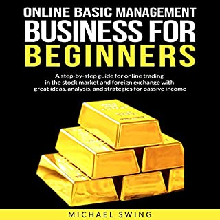 Online Basic Management Business for Beginners audiobook cover art
