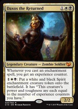 Magic The Gathering - Daxos The Returned - Oversized (043/342) - Commander 2015