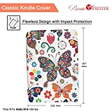Brain Freezer Butterfly Designer Smart Flip Case Cover Compatible with Amazon Kindle Paperwhite