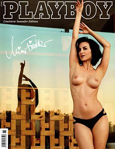 "Playboy Magazin 11/2016 (November 2016) - Abo-Autogramm-Ausgabe - Exklusives Star-Cover - ""Tatort""-Star MIMI FIEDLER alias Miranda Leonhardt"