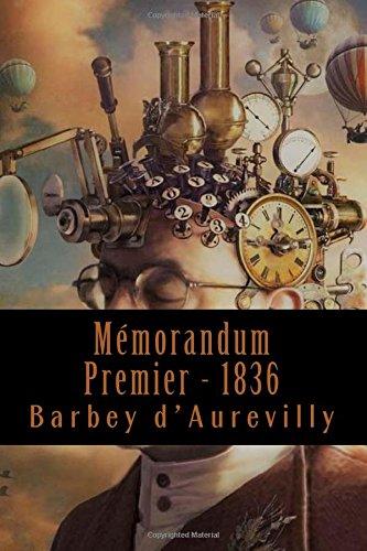 Mémorandum Premier - 1836