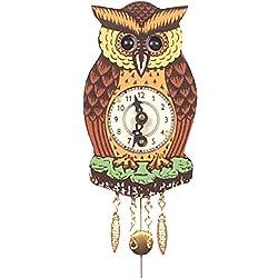 Alexander Taron Importer 201 Black Forest Owl Clock