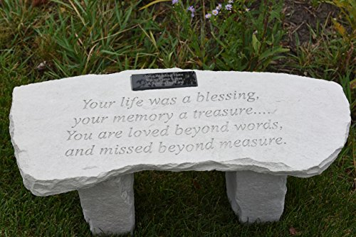 Memorial Bench: Your Life Was a Blessing