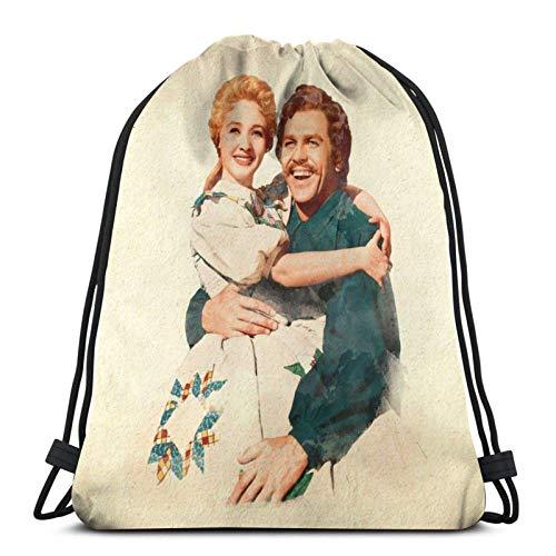 Seven Brides for Seven Brothers Sport Sackpack Drawstring Backpack Gym Bag Sack