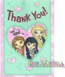 Bratz Kidz Thank You Notes w/ Envelopes (8ct)
