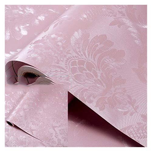 WHYBH HYCSP Tapete Selbstklebende Schlafzimmer wasserdicht warmen rosa Tapete Schlafsaal Wandaufkleber dekorative Tischschrank Möbel (Color : Pink Flowers, Size : 3mx60cm)