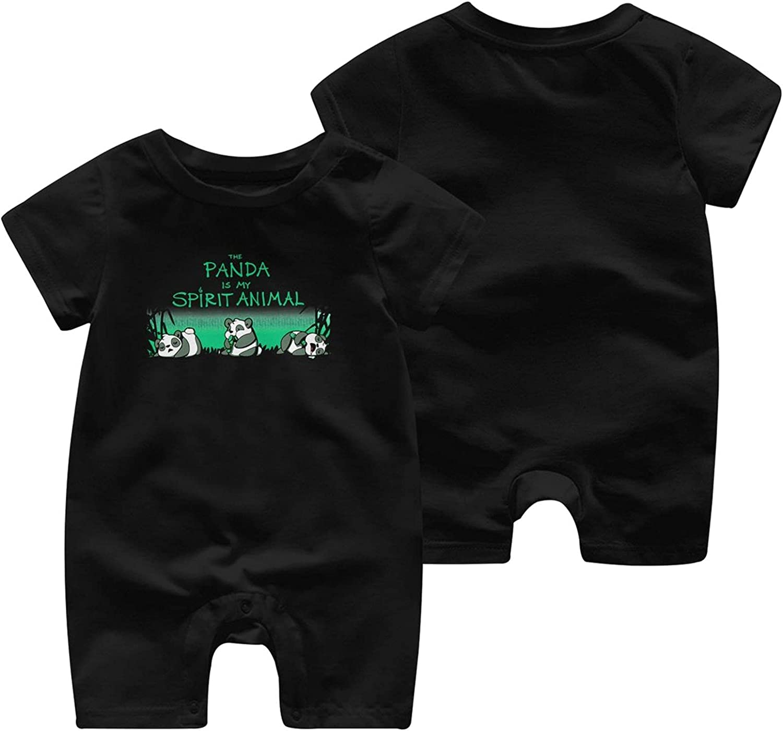 Panda Clearance SALE! Limited time! is My Spirit Sale item Animal Bodysuits Baby Onesie Uni Short-Sleeve