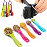 BESYZY Set of 5 Different Sizes Multicolor Measuring...