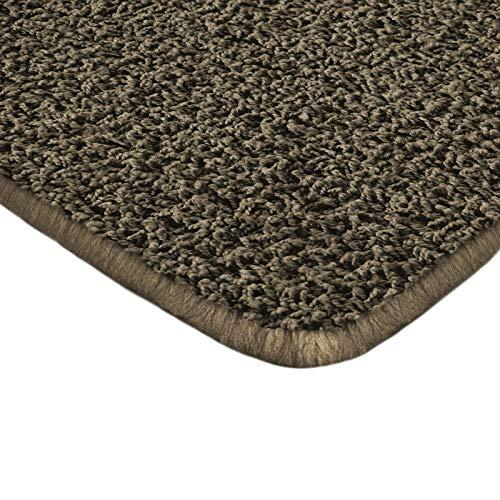 Floori Shaggy Hochflor Teppich - 200x290cm - moderner Wohnzimmerteppich - braun
