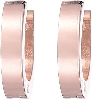 Flying Jewellery Metal Hoop Earrings, Clip Closure