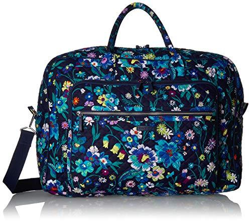 Vera Bradley Signature Cotton Grand Weekender Travel Bag, Moonlight Garden