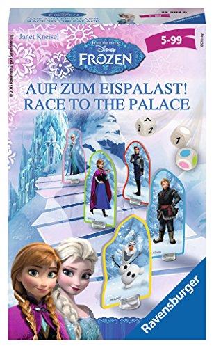 Ravensburger 23402 - Disney Frozen Brettspiele auf zum Eispalast - Mitbringspiel