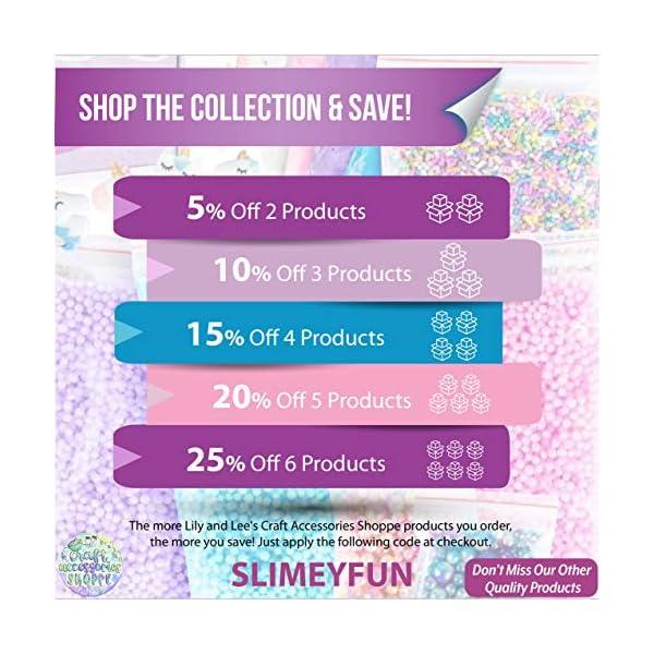 Unicorn Slime Kit for Girls - Ultimate DIY Slime Making Kit and Add Ins to Make Rainbow Unicorn Slime, Crystal Unicorn… 8
