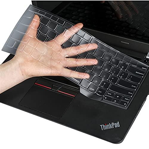 Membrana del Teclado del Cuaderno Cubierta de Teclado portátil de 14'para ThinkPad X1 Carbon 2018 XI S2 Yoga T470 L480 L380 L390 E480 E485 T480S TPU Piel Protectora Ultra-Delgado Altamente elástico y