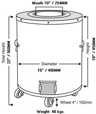 Tandoor-Home Tandoor Oven-SS1 Deluxe-Medium Home Tandoor