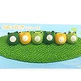 ちぎり和紙置物◆ミニミニ福招き かえる【福を六カエル】日本製