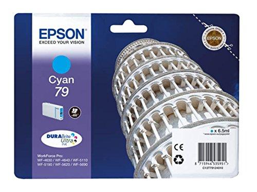 Epson Original - Epson WorkForce Pro WF-5620 DWF (79/c 13 T 79124010) - cartucho de tinta Cian - 800 páginas - 6,5 ml