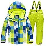 Chaquetas y Pantalones de esquí para niños, Trajes de esquí de Nieve, la Mejor opción para Esquiar en Invierno, adecuados para Viajes y Deportes al Aire Libre.