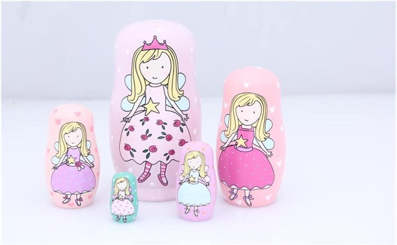 Russian Nesting Dolls 1SET Superior LOT Sale Ethnic Wildlife Matryoshka D Doll