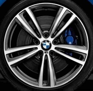 Coprimozzo fisso per cerchi in lega da 112 mm BMW 36122455268
