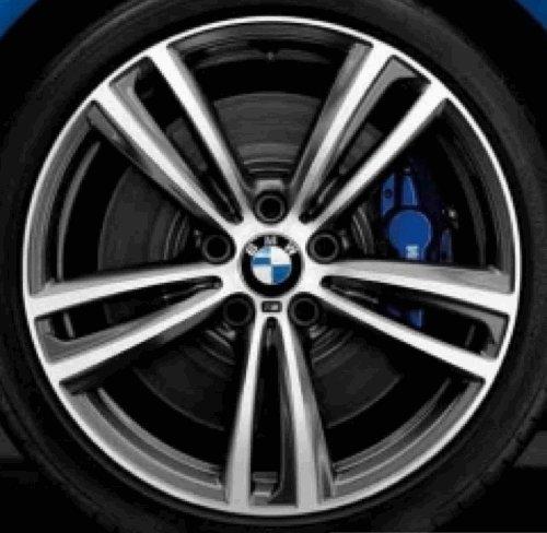 Original BMW Alufelge 3er F30-F31 M Doppelspeiche 442 Glanzgedreht in 19 Zoll für hinten