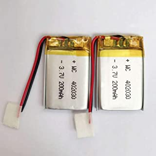 200mAh 3.7V 402030 Polymer Lithium Battery li-po Rechargeable Batteries Cell for MP3 MP4 Bluetooth Headset GPS