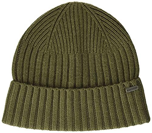 Tom Tailor 1027540 Basic Cap Sombrero, 11279 Dry Greyish Olive-Ovillo de Peluche, Talla única para...