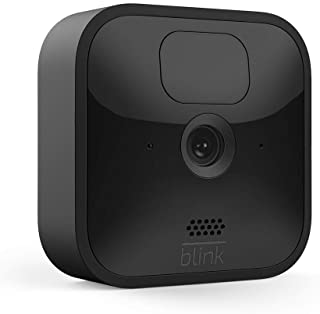Blink Outdoor - wireless, weather-resistant HD security camera, two-year battery life, motion detection, set up in minutes – 1 camera kit