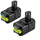 (Upgraded) 2Pack 5.0Ah P108 Replacement for...