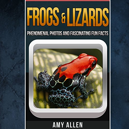 Frogs and Lizards audiobook cover art
