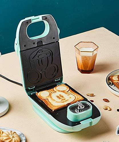 N-B Máquina automática para Hacer sándwiches de Desayuno Mickey Bakeware Waffle Maker