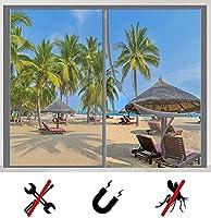 マグネット式網戸,磁気蚊帳ウィンドウ、簡易網戸、昆虫ドアスクリーンウィンドウ、磁気蚊帳カーテン、昆虫が侵入するのを防ぐために自動的にシールします,適用最もするドア/ベランダ/玄関/アパート ベランダ/サッシドア,され 取付簡単 -165×280cm(65×111inch)
