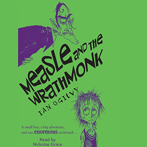 Measle and the Wrathmonk audiobook cover art