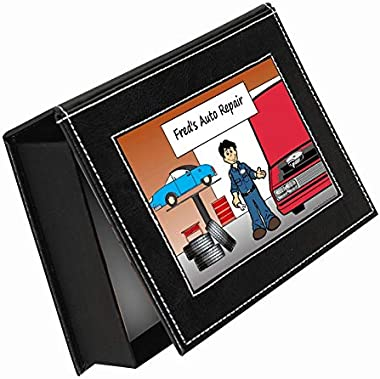 PrintedPerfection.com Personalized NTT Memory - Keepsake Box: Auto Repair, Mechanic - Male