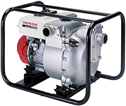 Honda WT20 (WT20XK4A) Heavy-duty 2-inch 185 Gal./Min Capacity Construction Trash Pump, Cast Iron Volute and Impeller