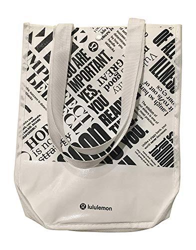 Breathe Deeply Yoga Tote Bag-White