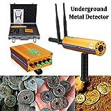 Detector de metales PRO Treasure Hunter detector de exploración de oro Buscar Cobre Plata Oro piedras preciosas LMMS (Color : -, Size : -)