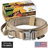 Tactical Dog Collar – Military K9 Dog Collar – Adjustable Dog...