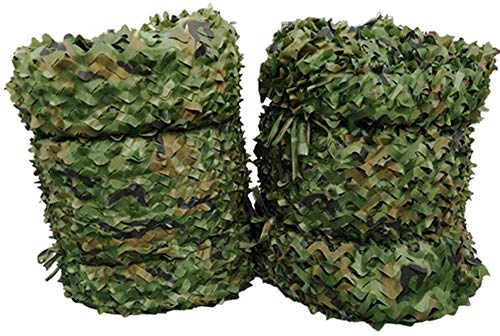 Wdsjxd Woodland Camouflage Net Military Desert Camo Netting Hunting Camping Shooting Blind Hide Army Sunshade Nets Outdoor Jungle Netting Cover-3M×3M